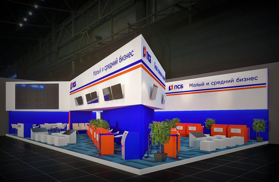 Promsvyazbank will organize a collective stand for small and medium enterprises